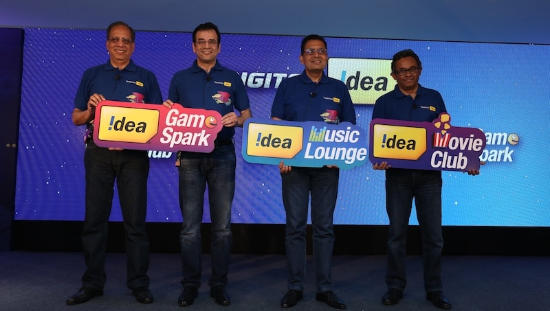 Idea Takes on Reliance Jio With 'Digital Idea' Movies, Music, Gaming Apps