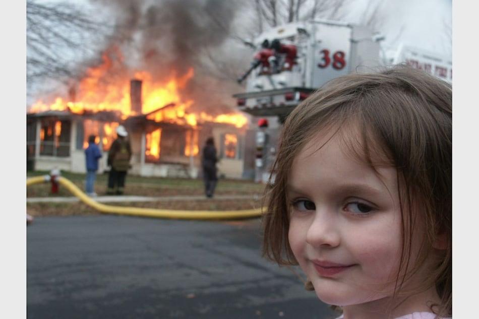 'Disaster Girl' Zoe Roth Turns Her Meme Into $500,000 NFT
