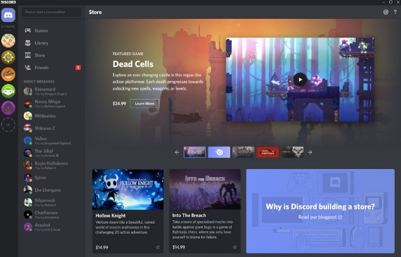 Discord Wants to Take on Steam by Selling Games | Technology