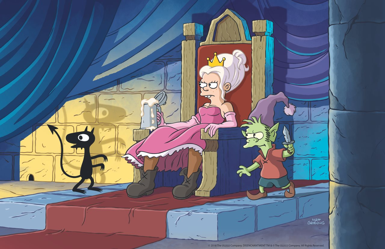 Netflix and Matt Groening's Disenchantment Gets New Trailer at San Diego Comic-Con 2018
