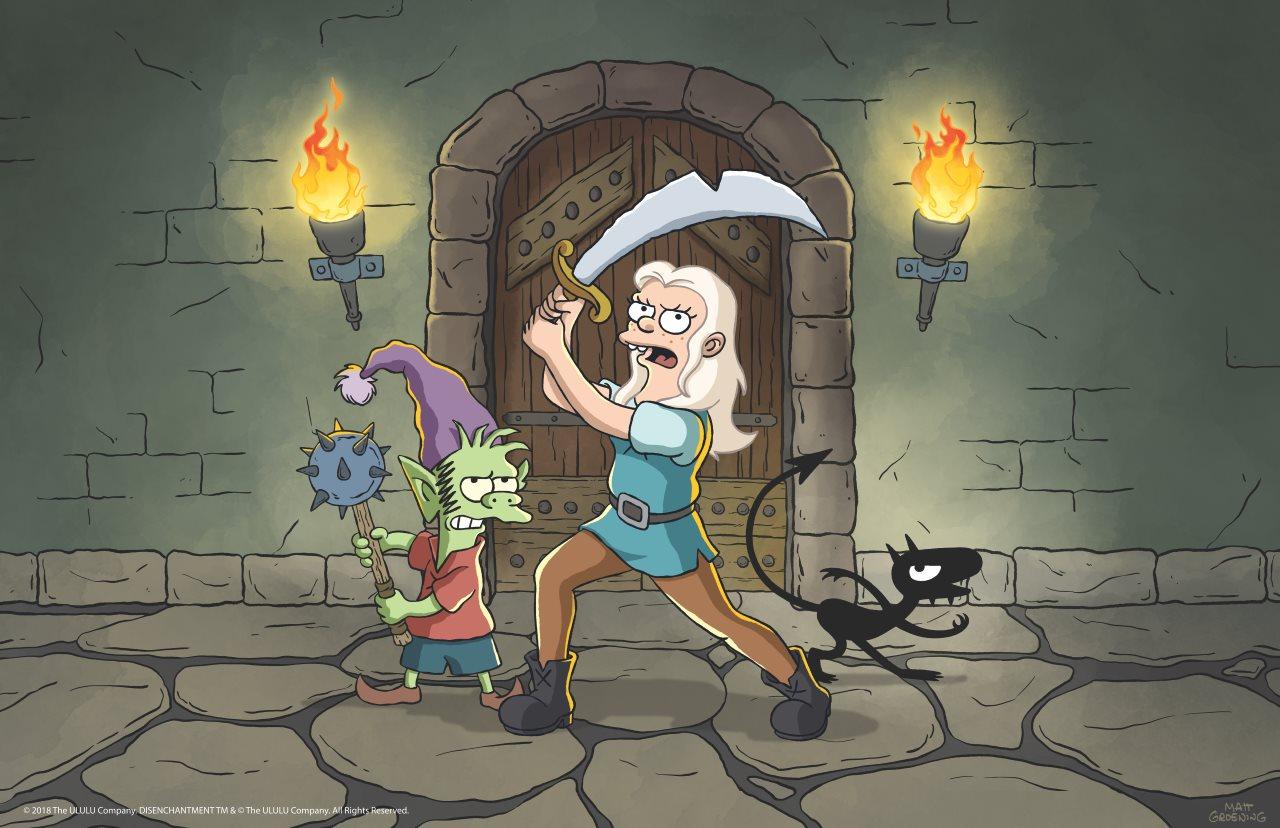 Netflix and Matt Groening's Disenchantment Gets First Trailer