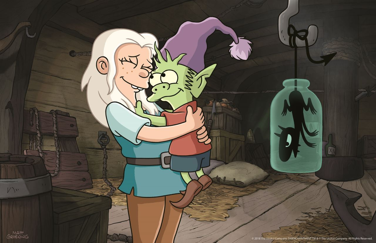 Netflix Renews Matt Groening's Disenchantment for Season 2, to Air in 2020, 2021