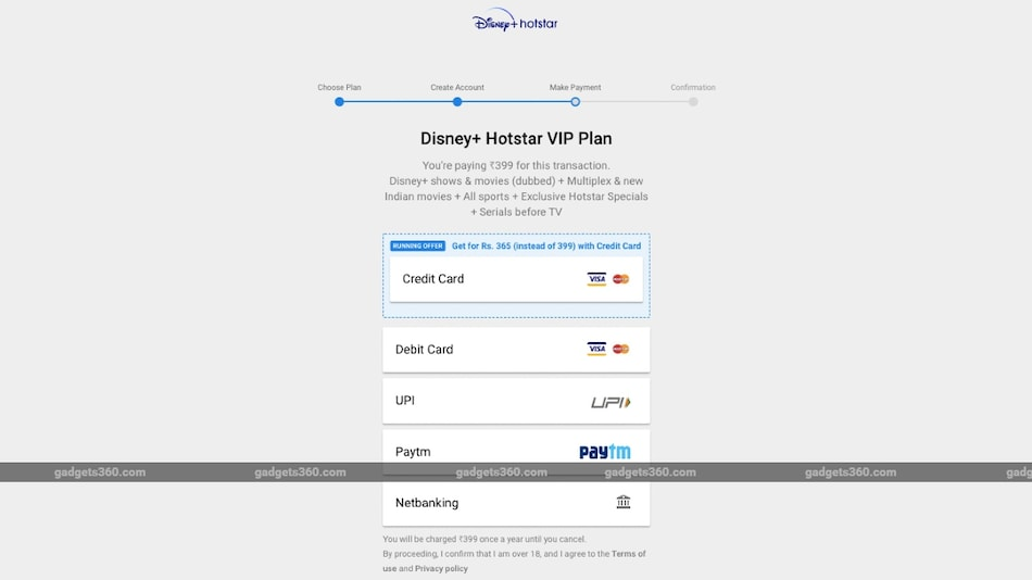 Disney+ Hotstar VIP Subscription Price Discounted for Credit Card Users Ahead of IPL 2020