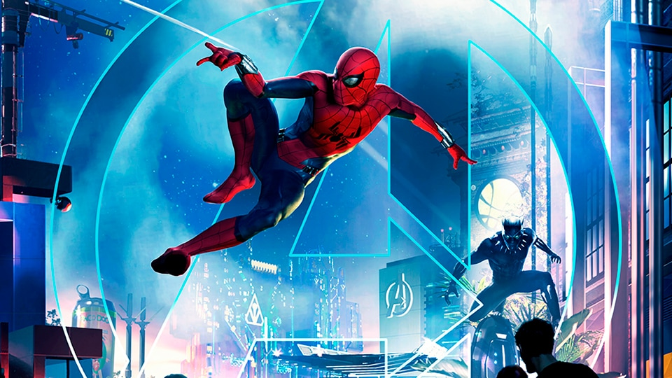 Marvel Superheroes Are Coming to Three Disney Theme Parks