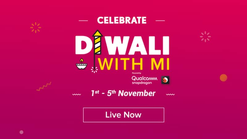 Diwali With Mi Last Day Brings Discounts on Redmi Note 5 Pro, Poco F1, and More