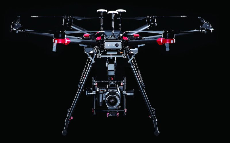 DJI Partners Hasselblad on Drone Platform, Seagate on 'Fly Drive' With MicroSD Card Slot