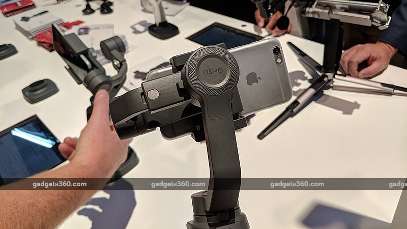 DJI Osmo Mobile 2, Ronin-S Camera Stabilisers Launched at CES 2018