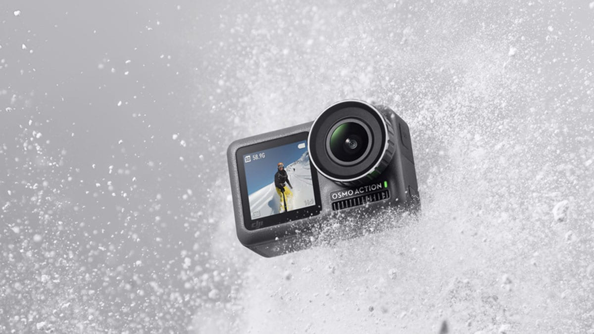 DJI Osmo Action Camera Launched at $349, Features 2 Displays