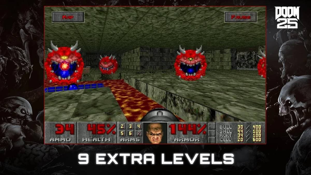 Original Doom, Doom II, Doom 3 Re-Released for Android, iOS, Modern