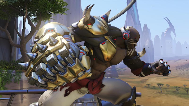 Doomfist Is Overwatch's New Hero