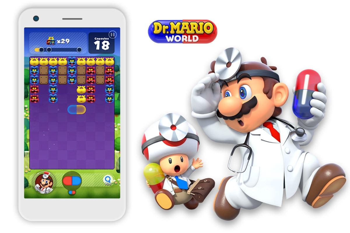 Dr. Mario World Released for Android and iOS a Day Early