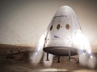 SpaceX Studying Landing Spots on Mars With NASA