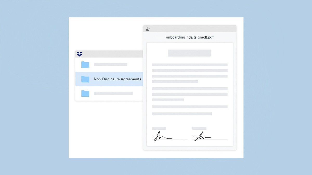 Dropbox Adds eSign Feature for All Web Users, With HelloSign Integration