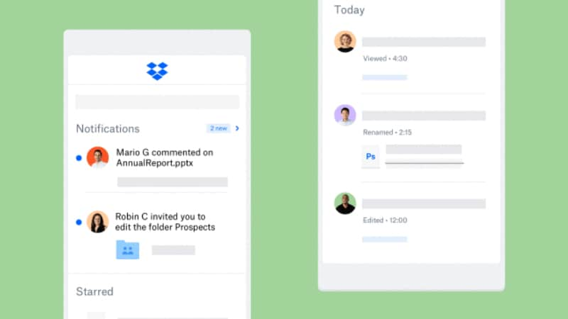 Dropbox Android and iOS Apps Revamped, Get New Home Screen, Teamwork Features