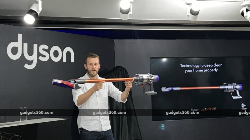 Dyson Cyclone V10 Vacuum Cleaner, Pure Cool Air Purifier Launched in India