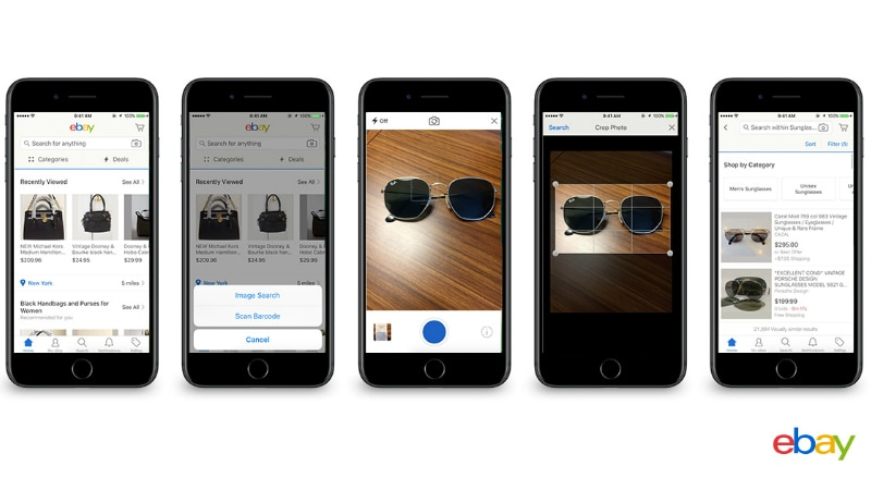 EBay is adding visual search to its mobile app