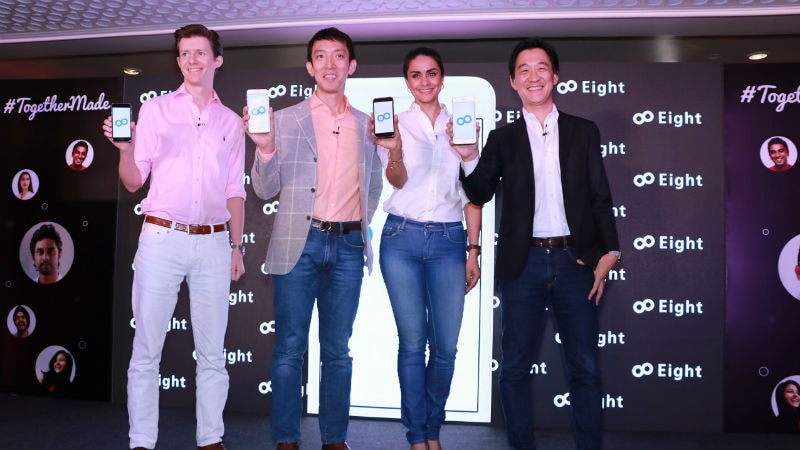Eight by Sansan Contact Management App Launched in India