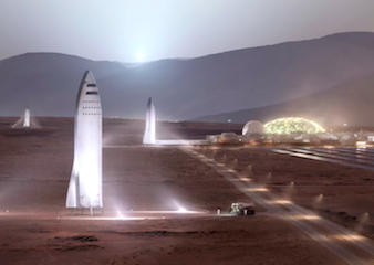 SpaceX Mars Rocket Reduced in Size to Save Costs, Says CEO Elon Musk