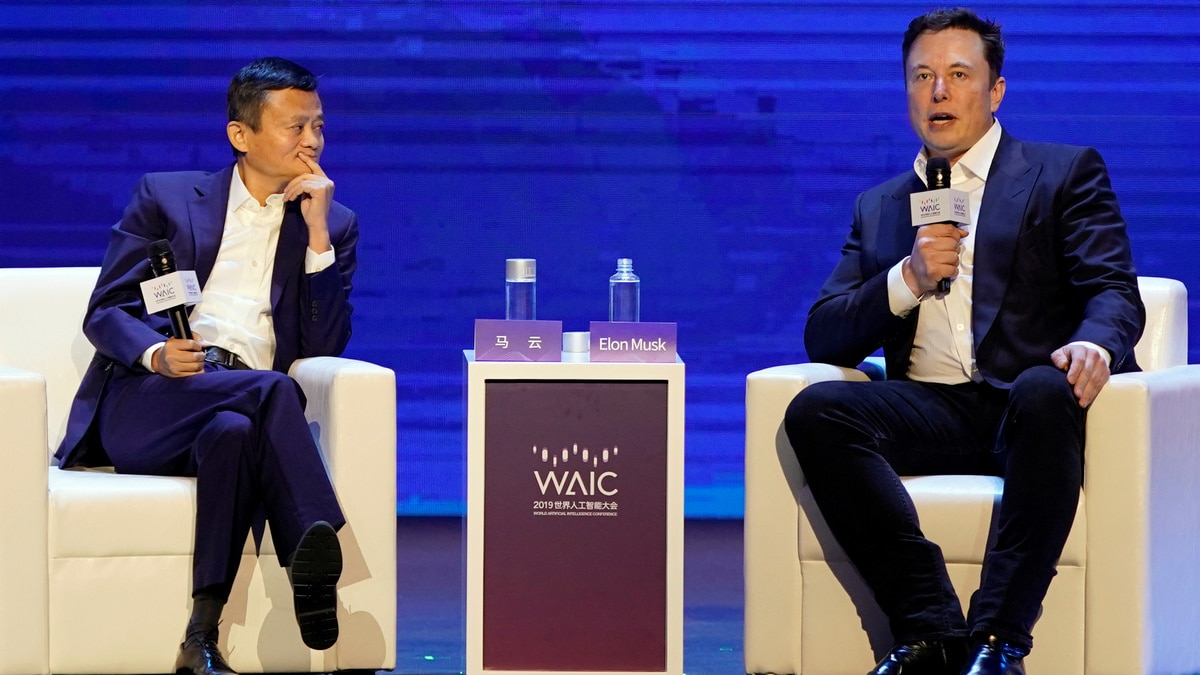 Jack Ma vs Musk: Tech Tycoons Spar on Future of AI