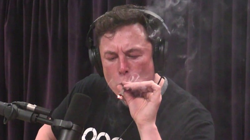 Tesla CEO Elon Musk Muses About AI, Space Over Whiskey and Weed