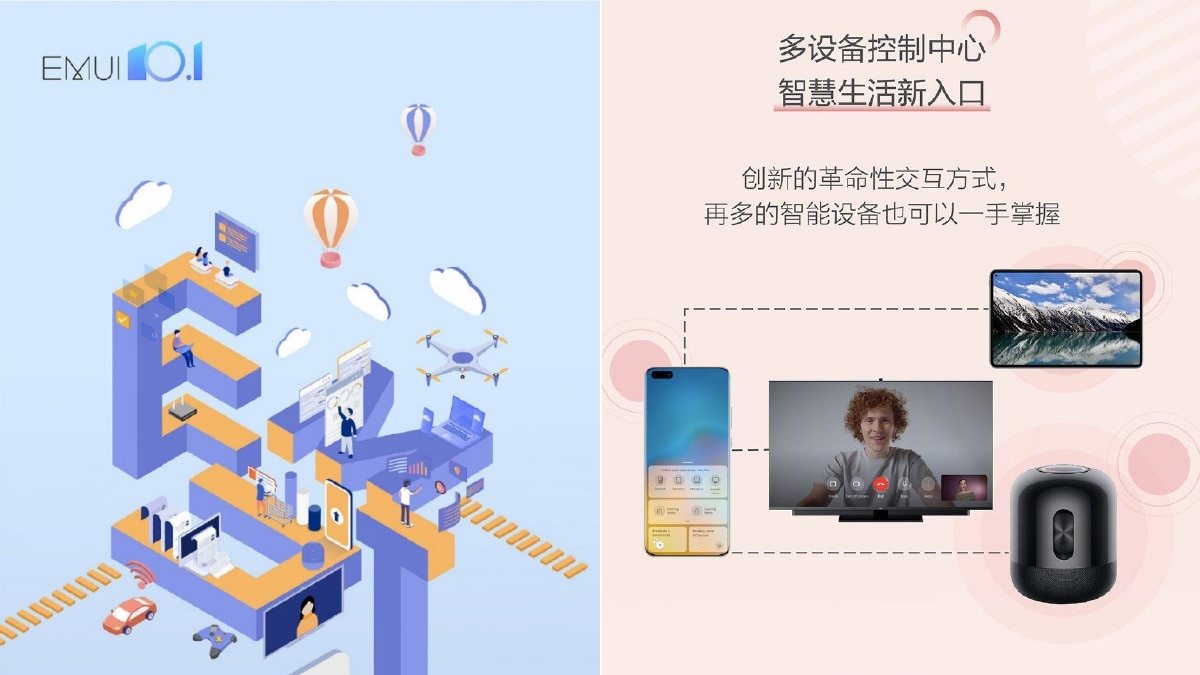Huawei Reveals EMUI 10.1 Rollout Schedule, Announces New Features