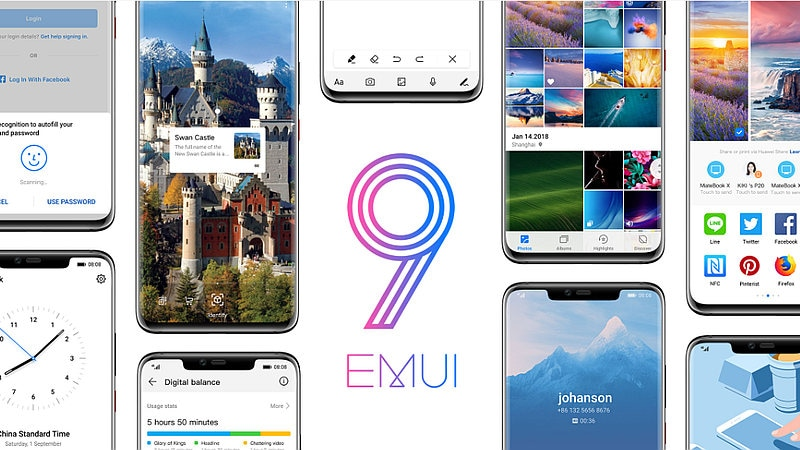 Huawei Announces EMUI 9.0 Global Rollout Begins on November 10, Based on Android Pie: Report