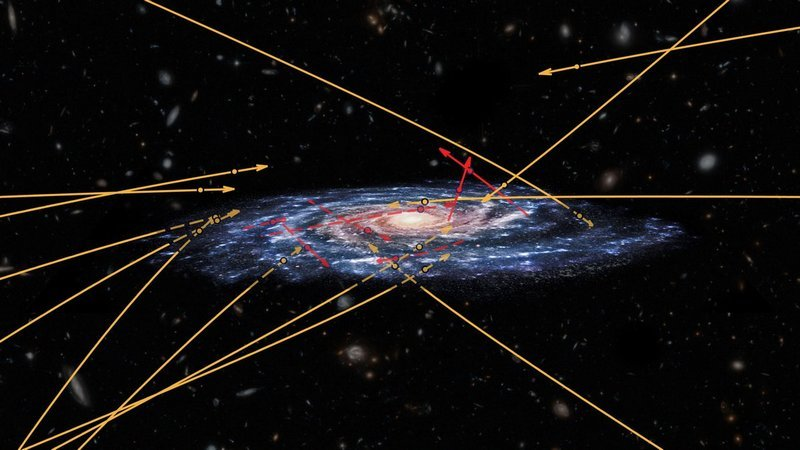 ESA's Gaia Spots Stars Flying Between Galaxies