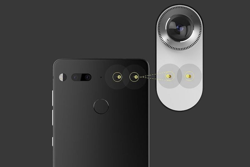 Essential's 360 Camera Is the World's Smallest 360-Degree Personal Camera for a Smartphone