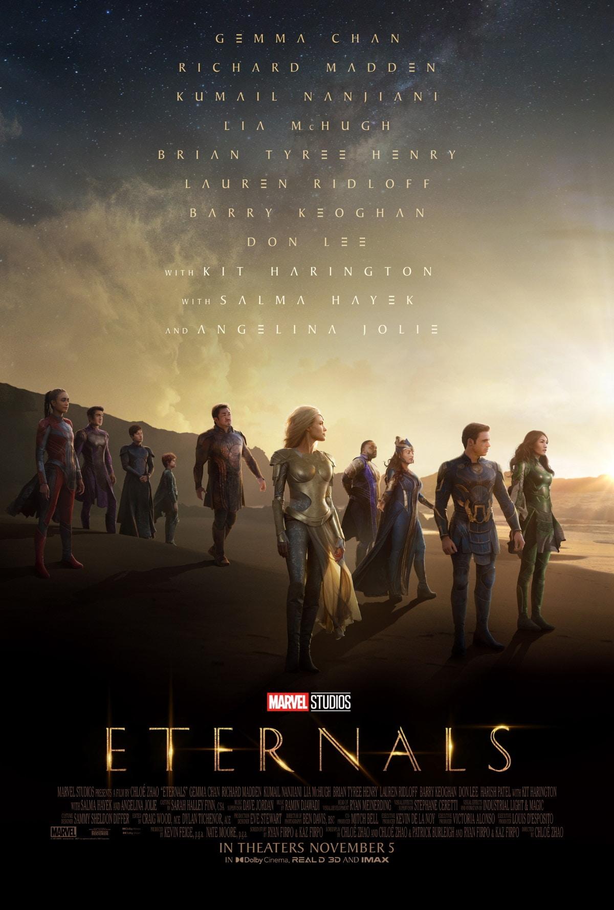eternals poster small eternals poster