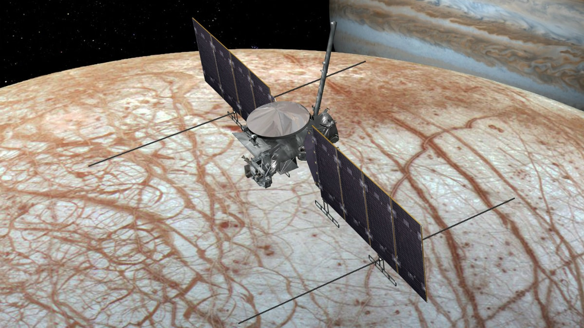 Europa Clipper Mission Confirmed