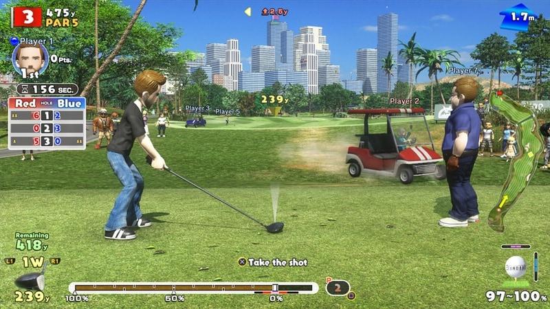 everybodys golf tee drive Everybodys Golf