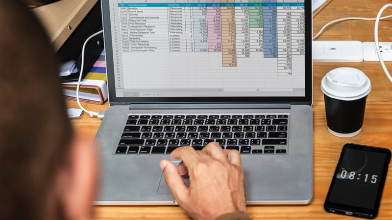 Microsoft Excel Lets Users Take a Photo of a Spreadsheet and Import Data