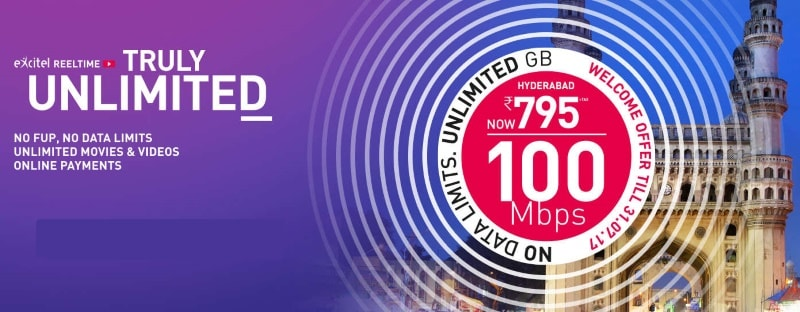 Excitel Broadband Unveils 'Truly Unlimited' Broadband Internet Plans Without FUP Limits