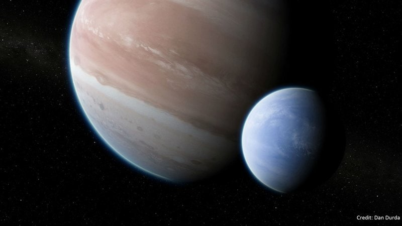 The first exomoon: Evidence of a moon outside our solar system