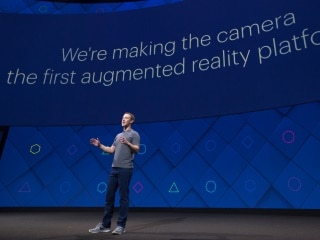 Facebook F8: Mark Zuckerberg Pushes for Augmented Reality Through Smartphones