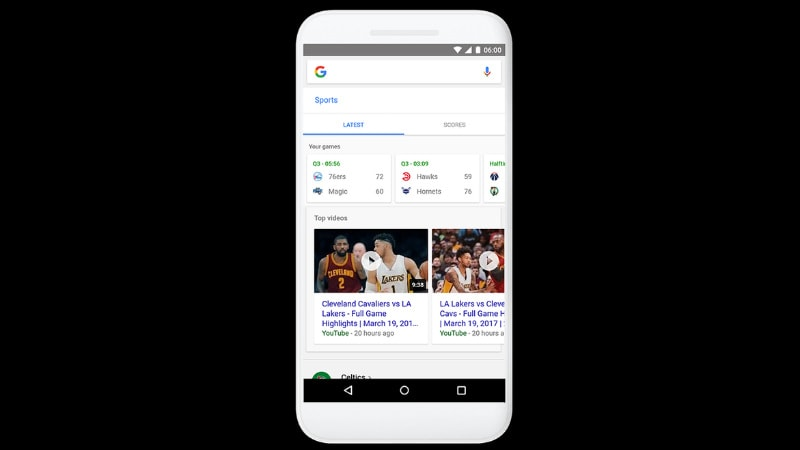 Google App Gets 'Tappable Shortcuts' for Interest-Based Searches on Android, iOS