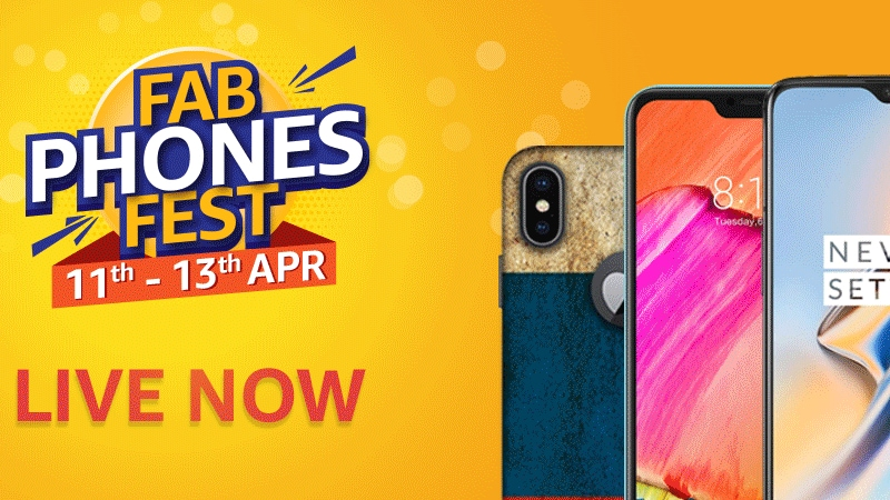 OnePlus 6T, Redmi Y2, Vivo V15 Pro, and More Receive Discounts in Amazon Fab Phones Fest Sale