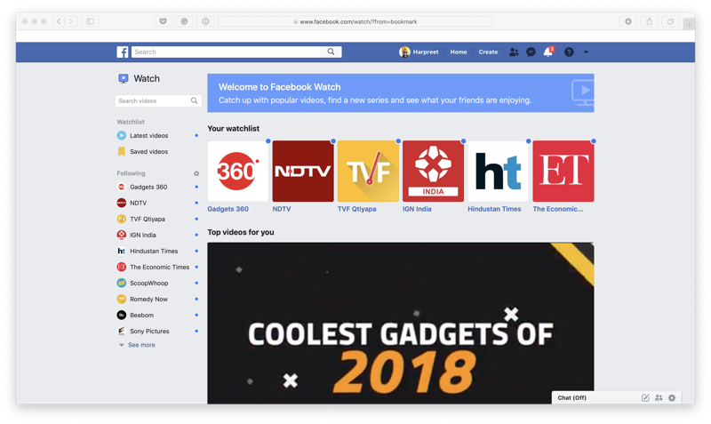 Facebook Watch Now Available Globally On Desktop And Lite App Ad Breaks Roll Out In 14 More Countries Entertainment News