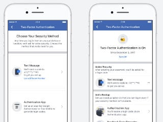 Facebook's Two-Factor Authentication Feature Updated, Streamlines Setup and Adds App Support