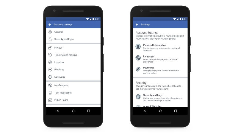 Facebook announces new steps to protect users' privacy