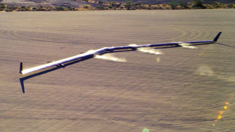 Facebook Aquila Internet-Beaming Drone Lands Successfully in Second Test
