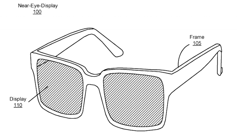 Facebook AR Glasses Patent Reveals a Transparent Display Design