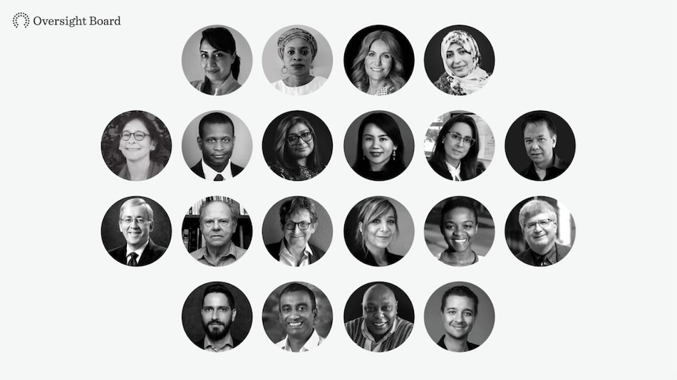 Who's Who on Facebook Panel for Content Decisions: Full List