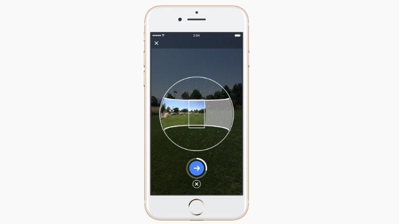 Facebook Camera Now Lets You Capture 360-Degree Photos
