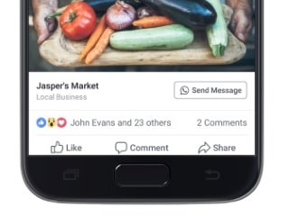 Facebook Ads Start Showing Click-to-WhatsApp Buttons to Users