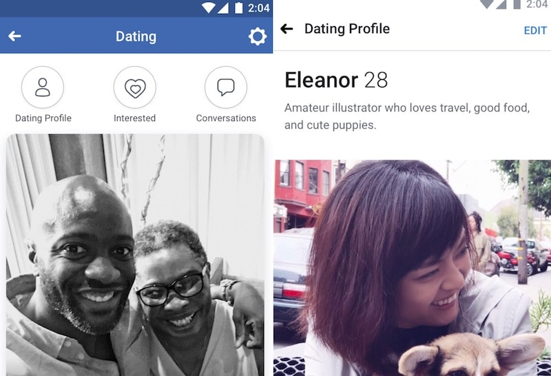 Is there a dating service on facebook