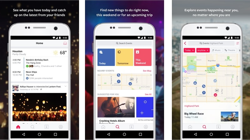 Events From Facebook App Now Available on Android