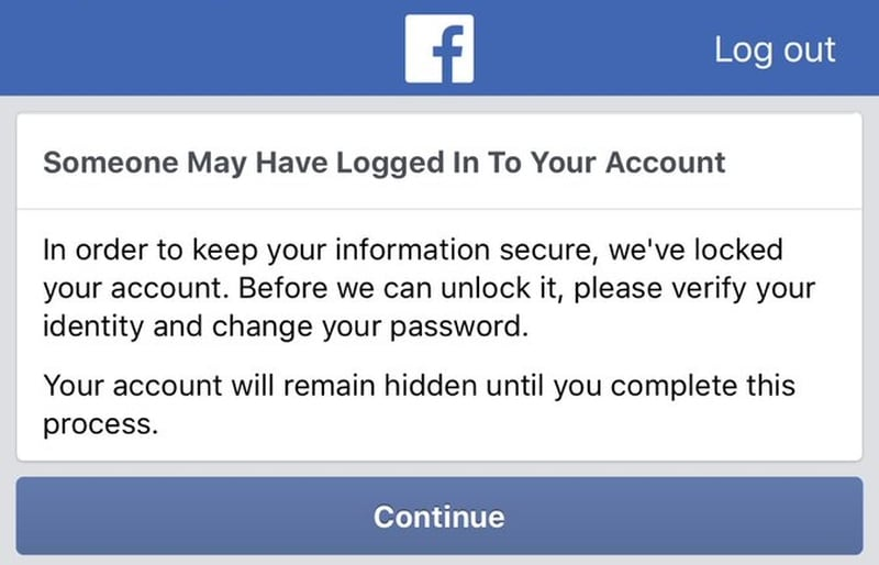 Facebook Acknowledges Error That Locked Some Users Out of Their Accounts