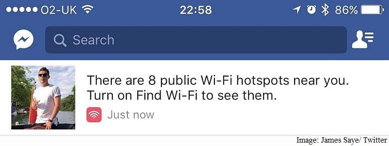 facebook free wifi james saye facebook
