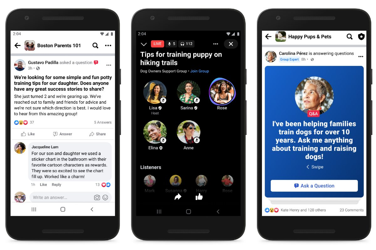 Facebook Allows Group Admins to Designate 'Experts' for Their Communities